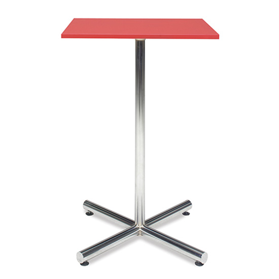 Spectrum Bar Table - Red