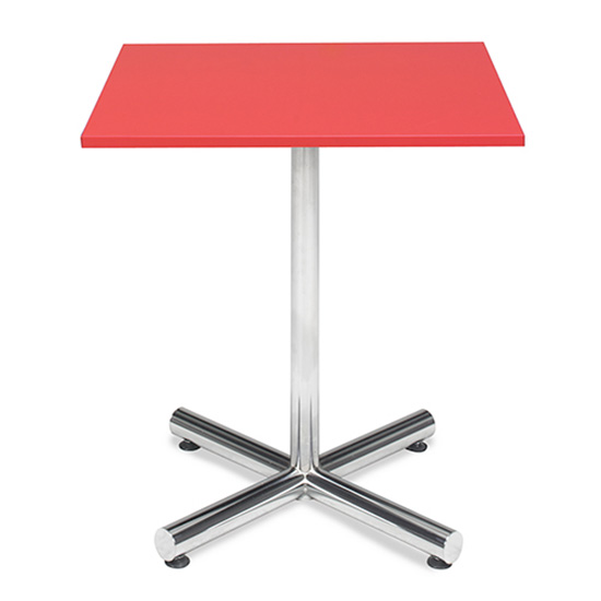 Spectrum Café Table - Red