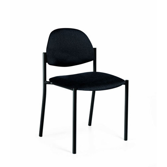 Comet Fabric Stack Chair without Arms